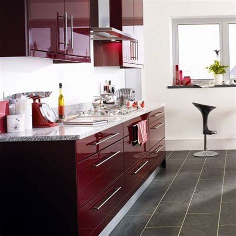 kitchen ideas colours burgundy color kitchen cabinets modern kitchen