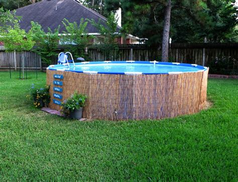 How To Decorate An Above Ground Pool by Small Above Ground Pools Decor Ideas Pools For Home