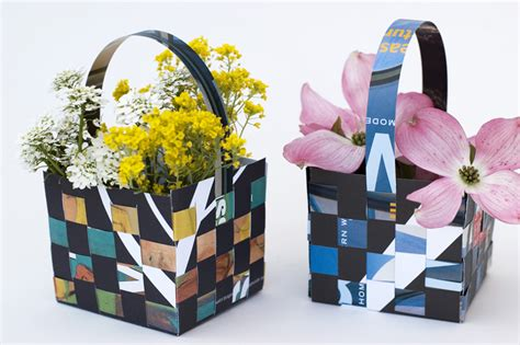 How To Make Paper Flower Basket - made by joel 187 may day flower baskets