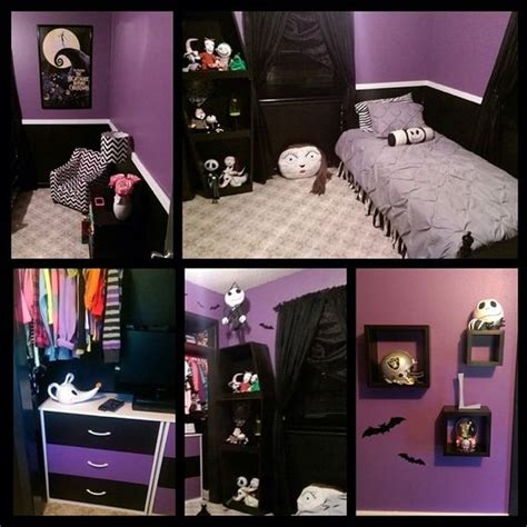 room of nightmare 13 nightmare before themed children s bedrooms nightmarebeforechristmas kidbedrooms