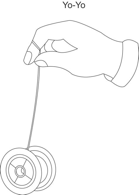 free coloring pages yoyo yo yo coloring printable page for kids