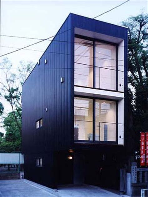 narrow homes japanese prefab narrow house japanese architecture