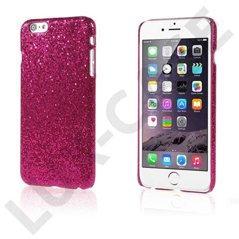 Hp Iphone 6 Pink glitter pink iphone 6 plus l 230 der cover gratis
