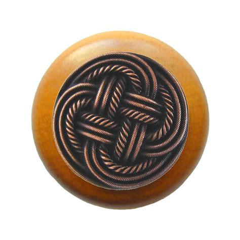 Notting Hill Knobs by Notting Hill Classic 1 1 2 Inch Diameter Antique Copper