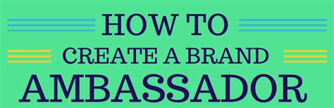 how to start a brand steps on how to create a brand ambassador sideqik