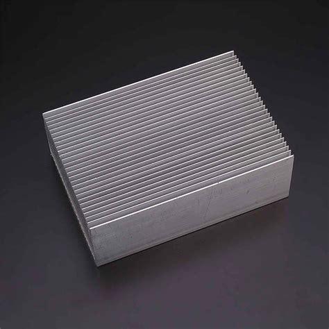 Promo Heat Sink Aluminium Radiator Cooling Pendingin 11 X 11 X 5 heatsink aluminum heat sink radiator cooling cooler fit