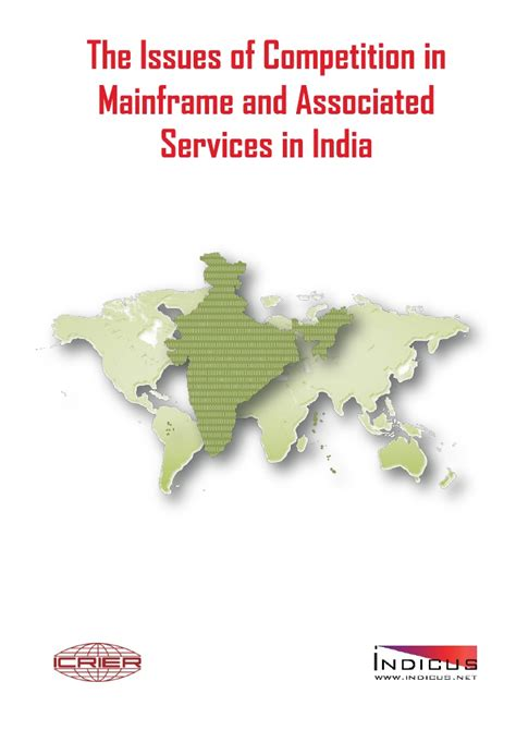 contest in india competition in mainframe and associated services in india