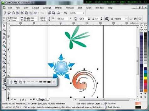 tutorial corel draw youtube how to use interactive distortion tool tutorial corel draw