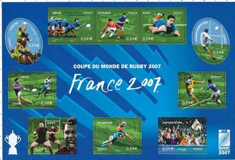timbre coupe du monde de rugby 2007 wikitimbres