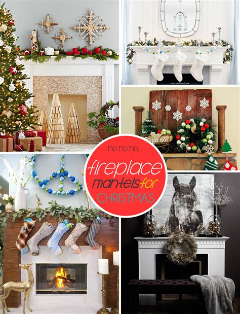 decorating ideas 50 christmas mantle decoration ideas