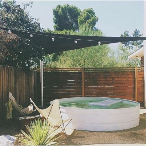 where to put a pool in your backyard best 25 stock tank pool ideas on pinterest diy hottub tank pools and stock tank