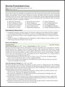 Executive Sle Resume by Resume Format Resume Format Types