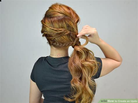 updos wikihow 4 ways to create an updo wikihow