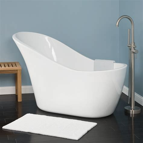 slipper bathtubs medlin acrylic slipper tub bathroom