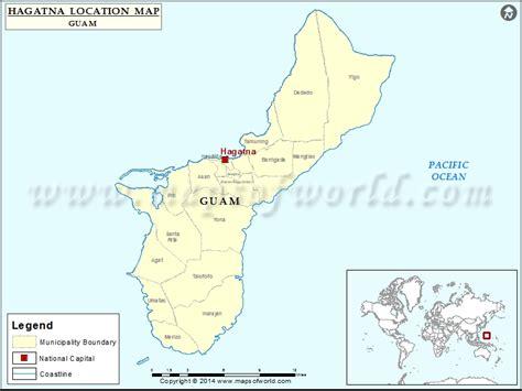 maps guam where is hagatna location of hagatna in guam map