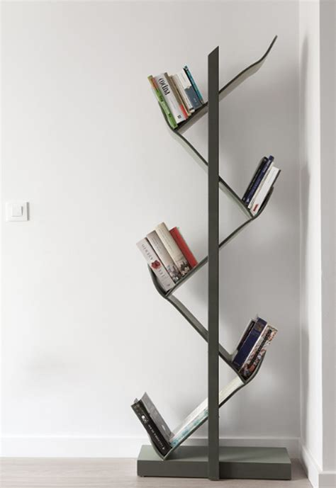 cool skateboard furniture with bookshelf design