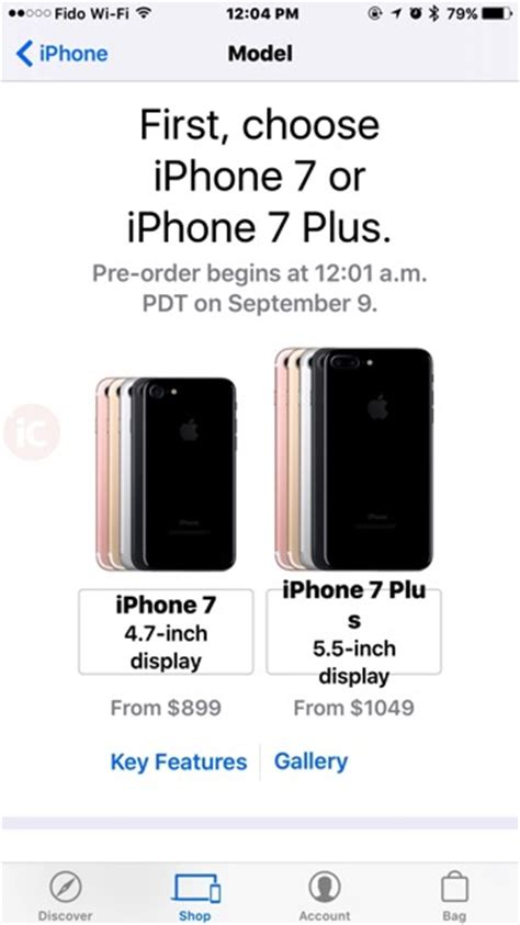 unlocked iphone  iphone   canadian pricing starts