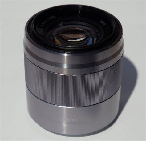 Sony 50mm F 1 8 Oss E Mount Lens sony 50mm f 1 8 oss images
