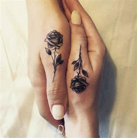 finger rose tattoo thumb tiny tattoos tattoos