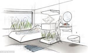 Bathroom Design Online robots shredding the rubbish and self cleaning surfaces