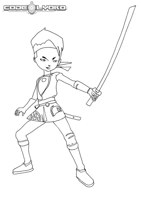 Code Lyoko Coloring Pages Coloringpages1001 Com Code Lyoko Coloring Pages