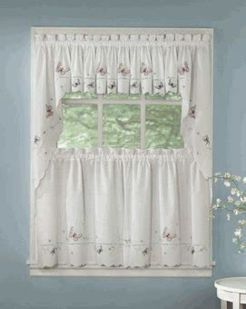 lorraine home fashions curtains kitchen tier curtains monarch embroidered kitchen