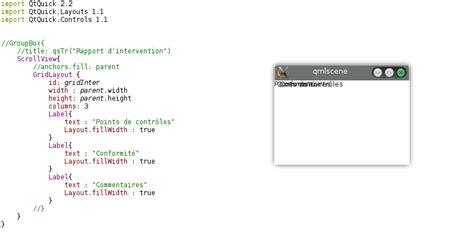 qml scrollview layout gridlayout dans scrollview