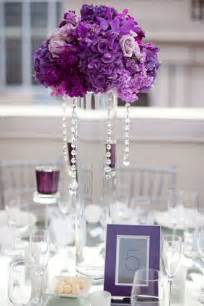 purple table centerpieces wedding centerpieces with artificial purple