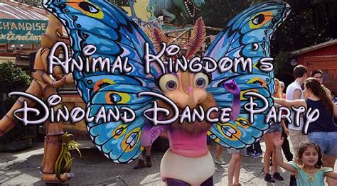Disney Dance Party Sweepstakes - animal kingdom s dinoland dance party with photos video and high quality commentary