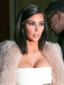 all k hairstyles kim kardashian mid length bob kim kardashian shoulder