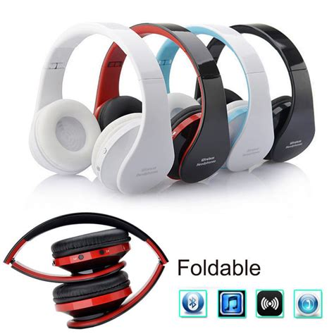 Headset Samsung Galaxy Tab 4 foldable wireless bluetooth headsets stereo headphones for