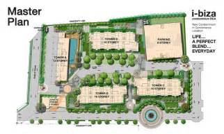 master plan โครงการ i biza condominium rca