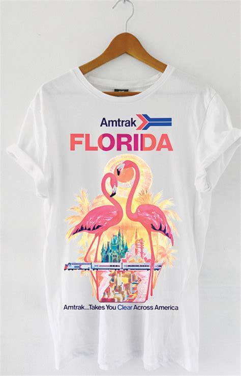Florida White Shirt t shirt for amtrak florida white by mathrow