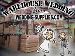 Wedding Favors Warehouse by Wedding Supplies Wedding Store Offers Warehouse Weddings