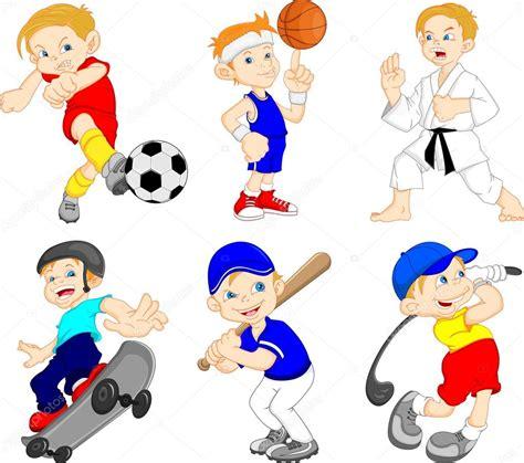 imagenes animales haciendo ejercicio personaje de dibujos animados chistoso haciendo deporte