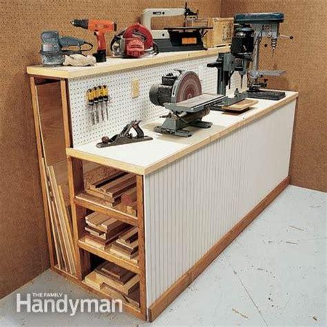 Garage Storage Wood Workshop Organization Ideas Sawdust 174