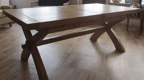 solid wood extendable dining table solid wood rustic non extendable dining table