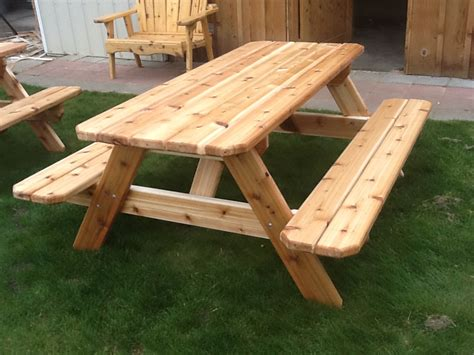 build picnic table bench make a picnic table online woodworking plans