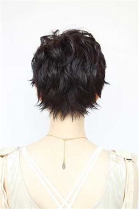 back viewof short shag hairdstyles 15 back of pixie cuts pixie cut 2015
