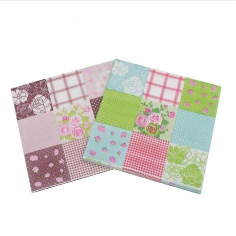 Decoupage Napkin Napkins Tissue Motif 1 floral paper napkin event supplies decoration tissue decoupage servilleta 20pcs