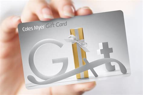 Myer Group Gift Card - coles myer cards davidson branding