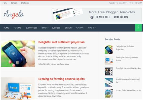angelo responsive blogger template free graphics free