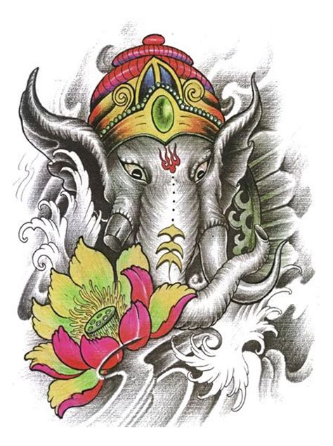 ganesh tattoo flash designs top quality high resolution