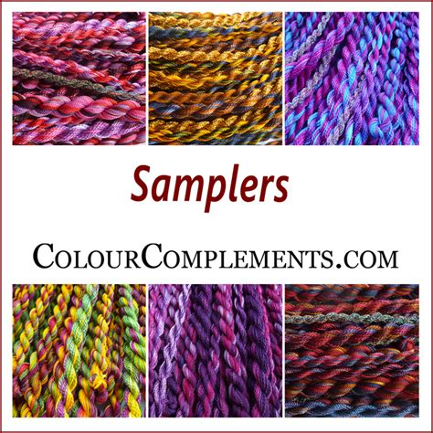 color complements colour complements slers dyed embroidery threads