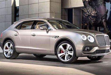 W12 Powered 2016 Bentley Bentayga Rendering