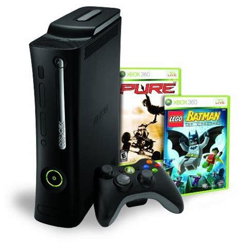 xbox 360 elite 120gb console xbox 360 elite 120gb bundle w lego batman console