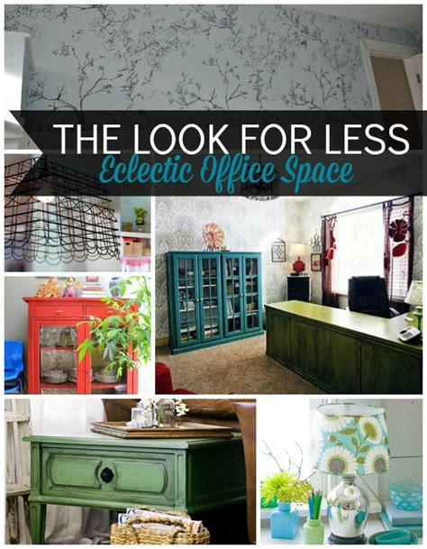 5 ways to get this look eclectic office infarrantly creative