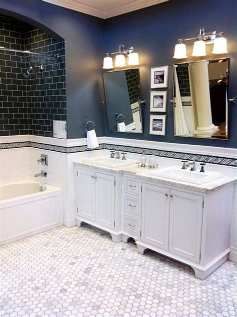 dark blue bathrooms 40 dark blue bathroom tile ideas and pictures