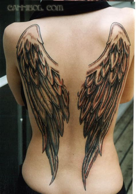 tattoo of angel wings angel wings tattoo by cannibol on deviantart