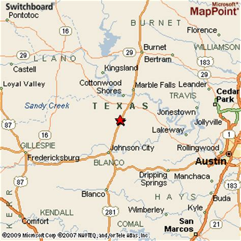 roundtop texas map mountain texas